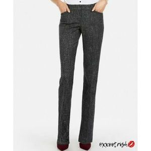 {Express} Editor Barely Boot Pant | Speckled Black